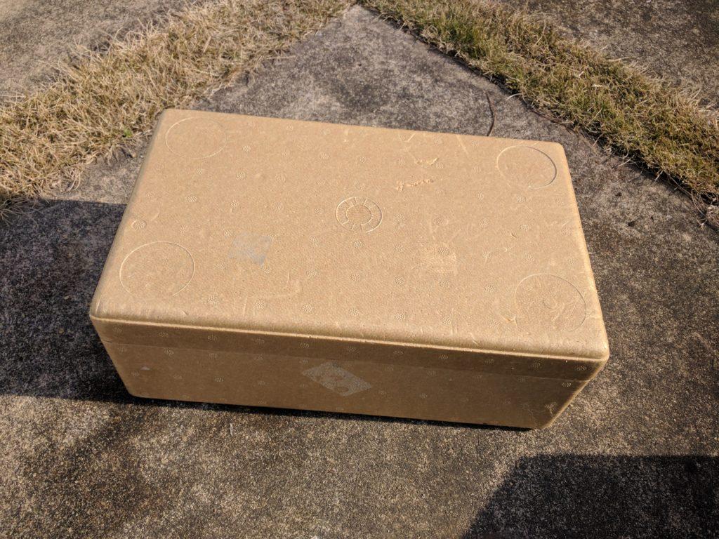 箱詰めしました